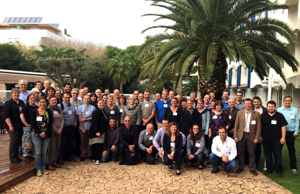 The AQUAEXCEL2020 consortium at the kick-off meeting in Montpellier, November 2015