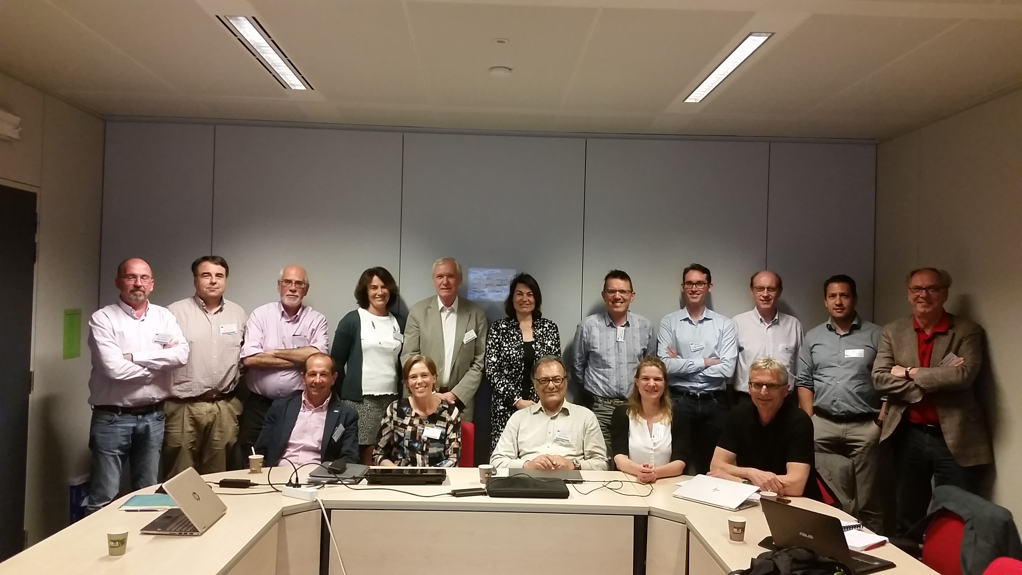 Industry and Research Advisory Panel (IRAP) Meeting in Brussels April 2018