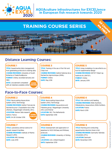 training courses overview